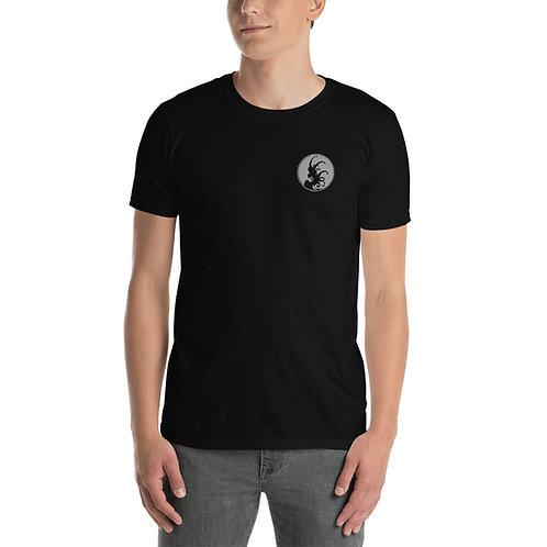 BreakWater front wave T shirt (Black)