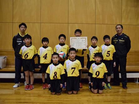 小学校5年生以下の部 男子<準優勝>