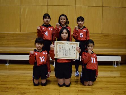 小学校5年生以下の部 女子