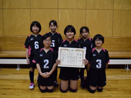 小学校5年生以下の部 女子<第4位>