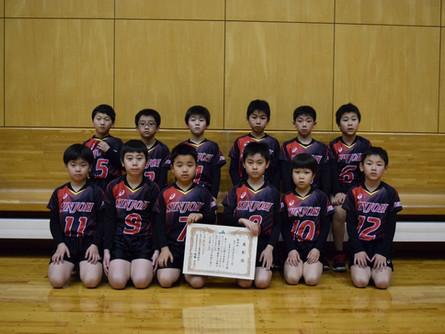 小学校5年生以下の部 男子<第4位>