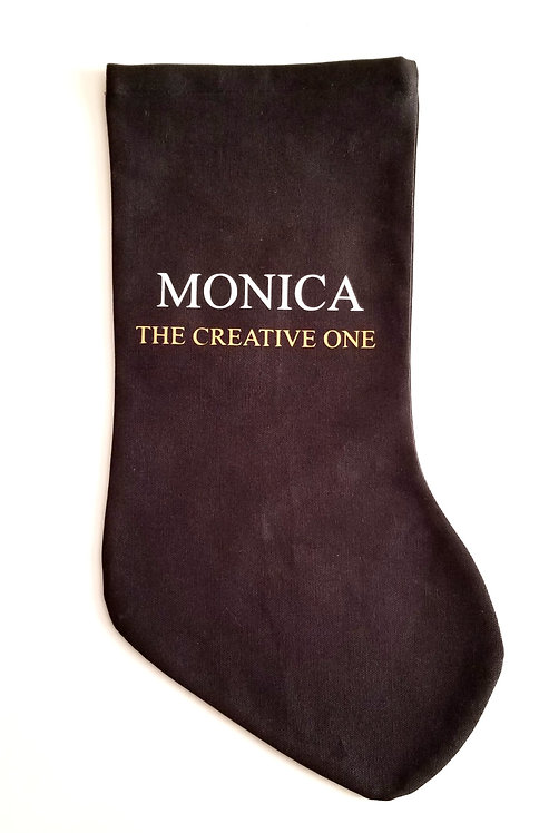 (2) Holiday Stockings (Personalize It)
