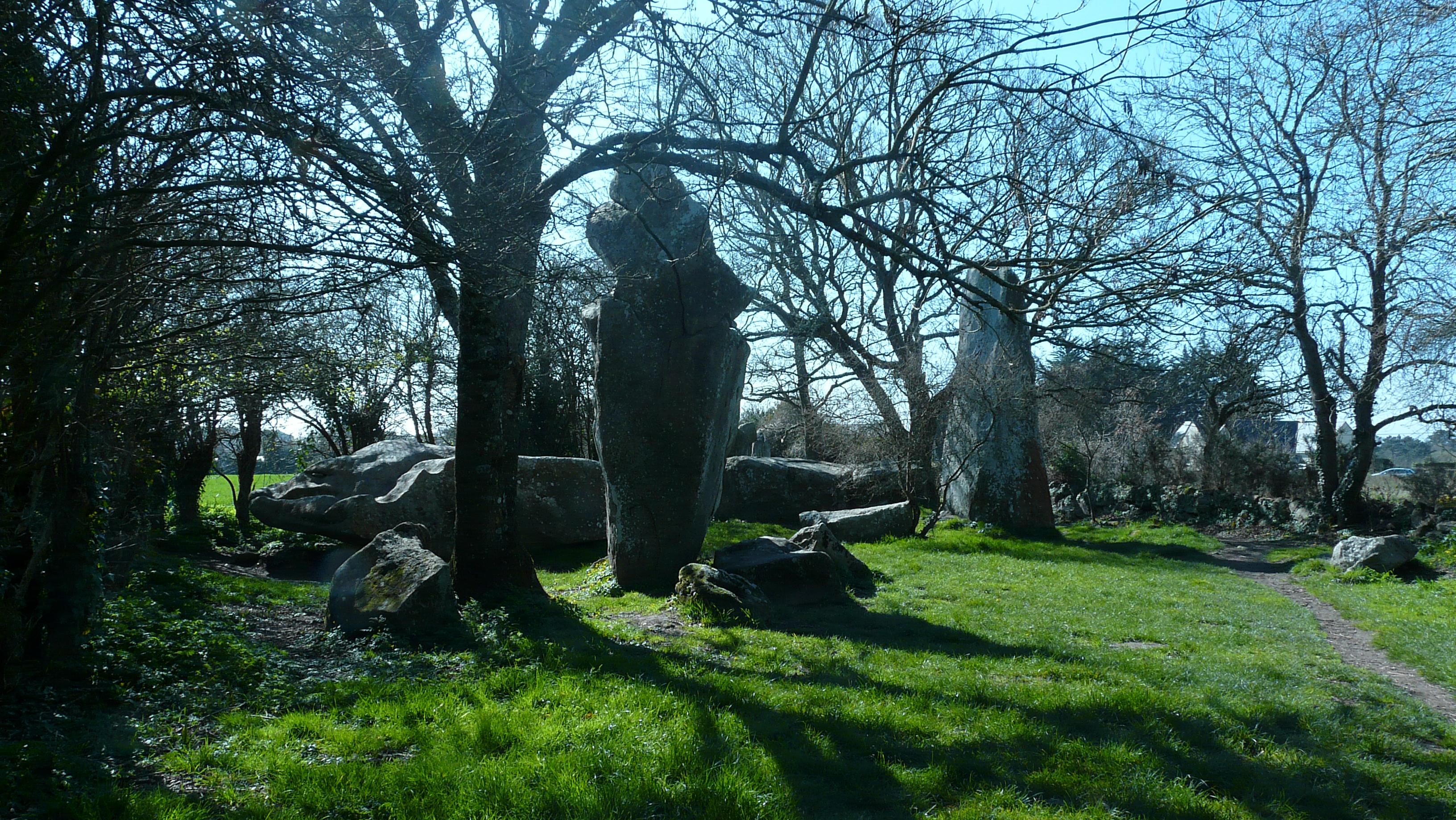 Site Mégalithique en Morbihan