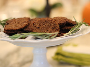 Ginger Snap Cookies  ~ Grain Free