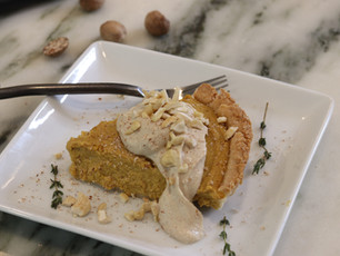 Pumpkin Tofu Pie Maple Tofu Whip       ~ Vegan