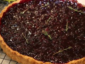 Concord Grape Tart