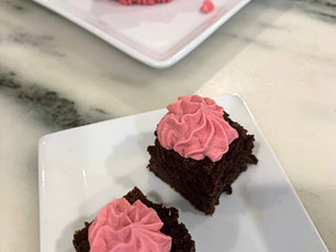 Chocolate Cake Beet Coconut Cream ~ Grain- Free