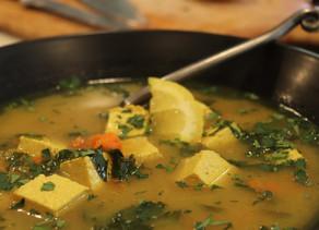 Immune Boosting Turmeric Soup ~ Vegan