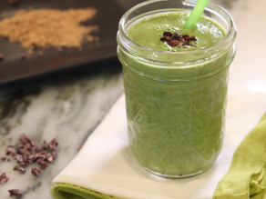Lions Mane Green Smoothie  ~ Vegan