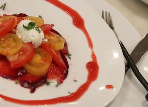 Heirloom Tomato and Plum Salad