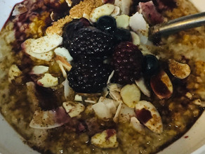 Quinoa Porridge with Ayurvedic Spices