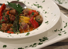 Sausage & Peppers~ Paleo