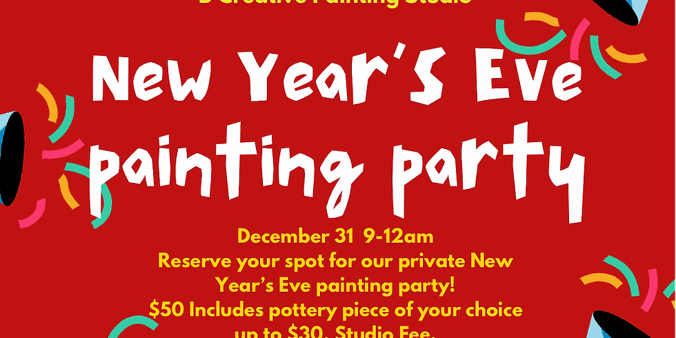 New Years Eve Painting Party