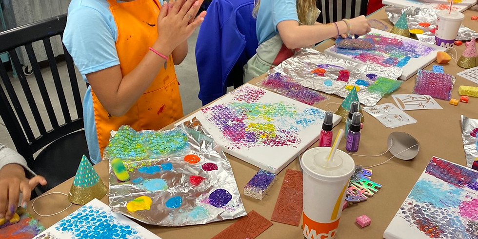 FREE Art class Ages 3-14