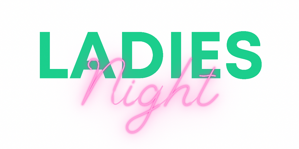 Ladies Night  $15 plus pottery of your choice