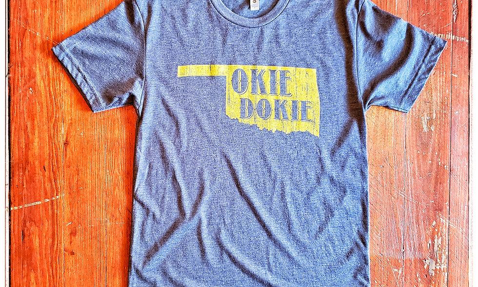 Okie Dokie triblend t-Shirt
