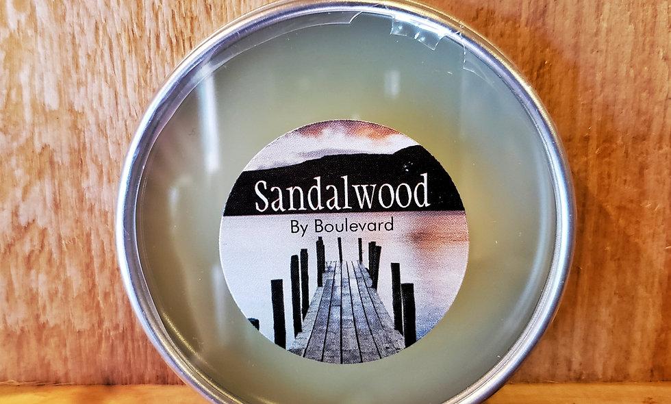 Sandalwood Clear Top 2.5 oz Beard Balm