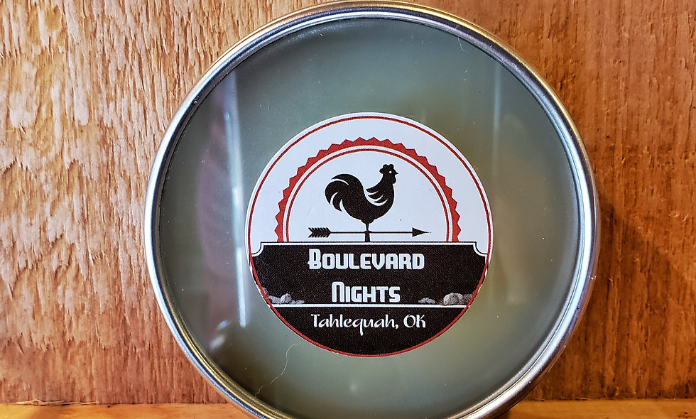 Boulevard Nights Clear top 2.5 oz Beard Balm