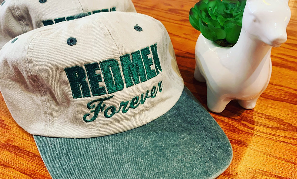 Redmen Forever hat (khaki & vintage green)