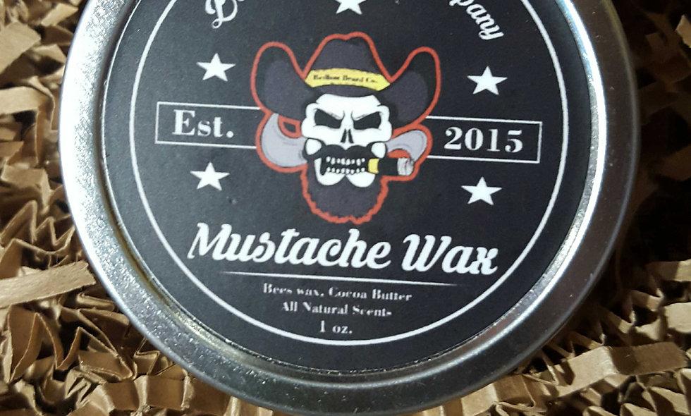 mustache wax (1oz)