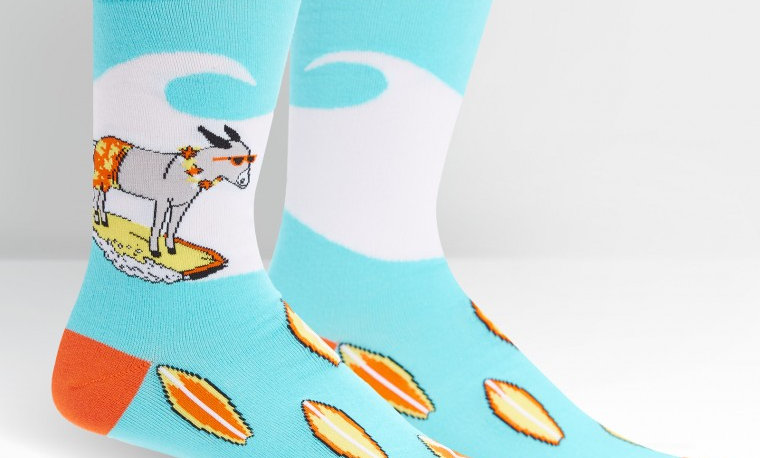 Hang 4 socks