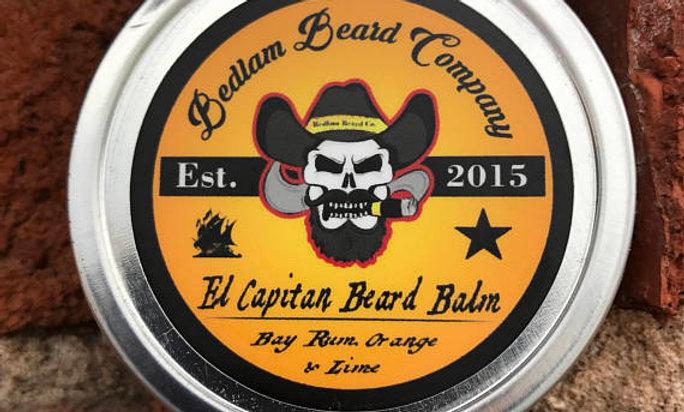 El Capitan Beard Balm
