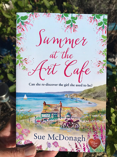 Summer at the Art Cafe, by Sue McDonagh