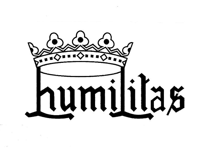 Humilitas em preto