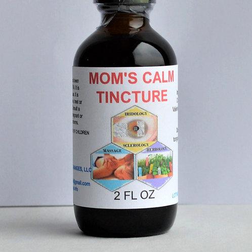 Moms Calm Herbal Formula Tincture 2 oz