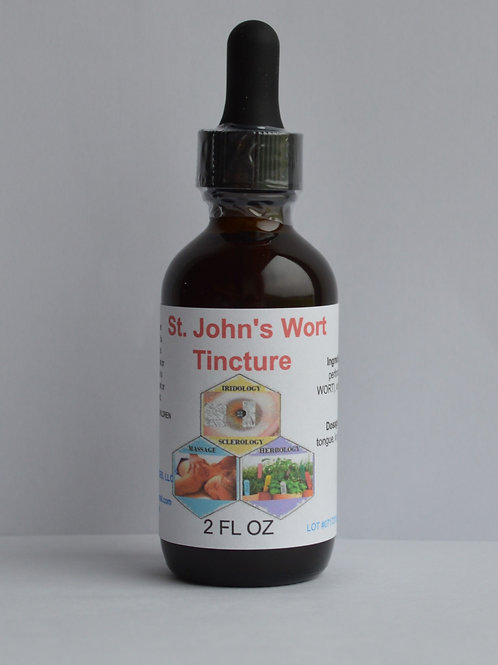 St. John's Wort Herbal Tincture 2 oz