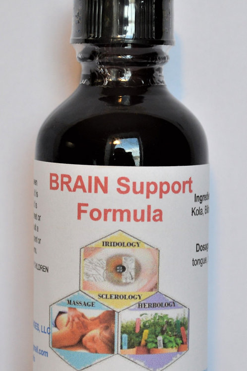 Brain Support Herbal Formula Tincture 2 oz