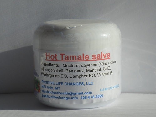 Hot Tamale Salve 2 oz