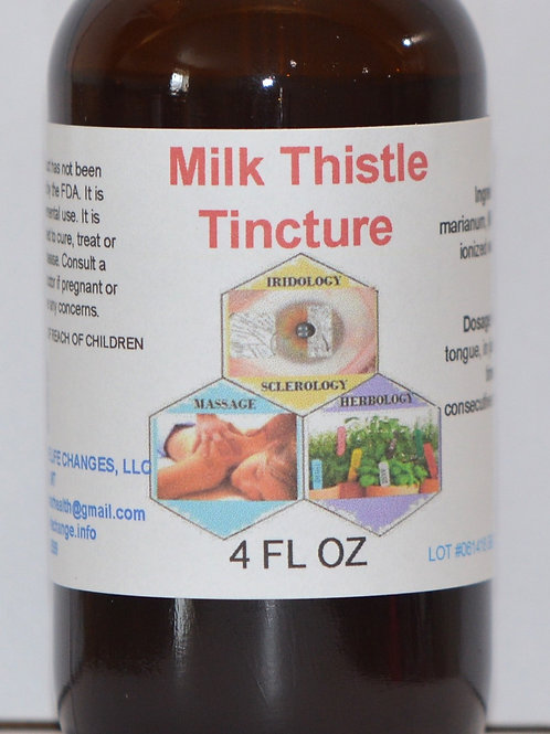 Milk Thistle Tincture 4 oz
