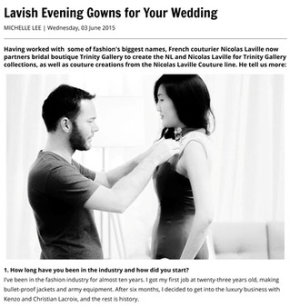 Female Magazine - LAVISH Evening Gowns for Your Wedding