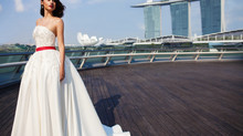 Exclusive Gown @ Singapore Tourism Board, Covetella and F1 Collaboration for SG50