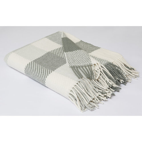 Irish Merino Wool Throw