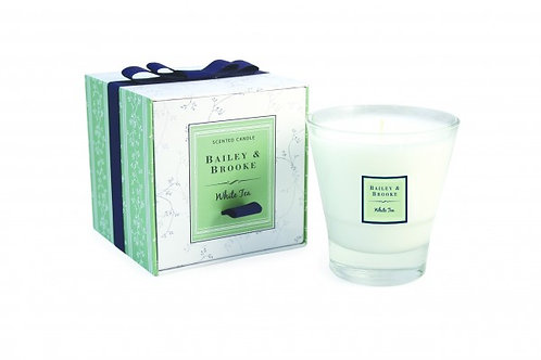 Bailey & Brooke White Tea Candle