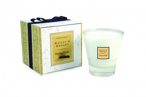 Bailey & Brooke Precious Woods Candle from Ireland