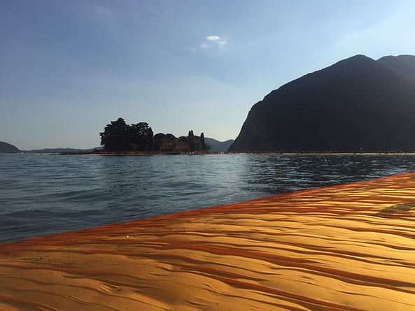 The Floating Piers, summer 2016