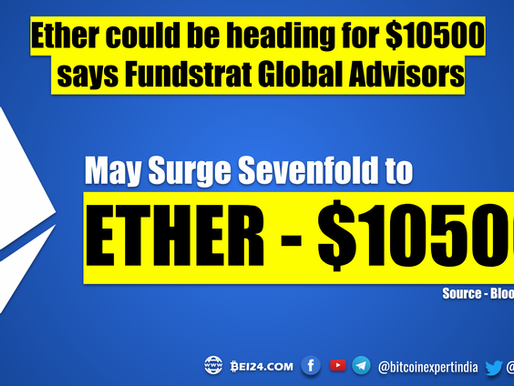 Ether could be heading for $10,500 says Fundstrat Global Advisors