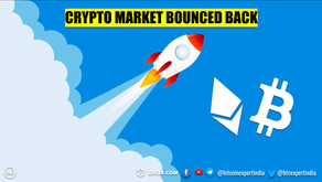 Crypto Market Bounced Back with Quick Recovery
