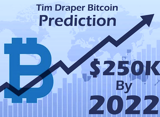 $ 250,000 Bitcoin Price Prediction by 2022 is Conservative - Tim Draper