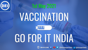 Vaccination is now open for 18+ years people in India