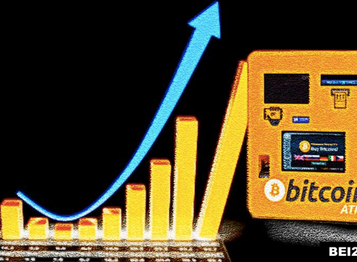 Bitcoin ATM installation grown by 750% since 2016