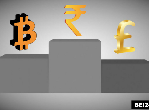 Bitcoin Vs World's Top Currencies, BTC is about to beat Indian Rupee, Far ahead from Pound & Ruble