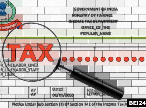 Income Tax Notice to Indian Crypto User