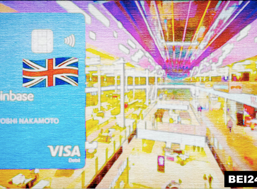Coinbase Launched Visa Card for UK Customers