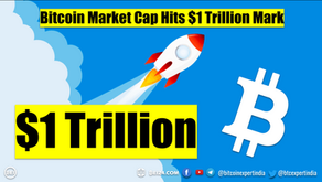 Bitcoin Hits $1 Trillion Mark and    New All Time High