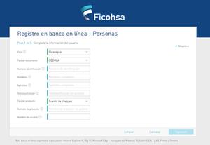 registro ficohsa