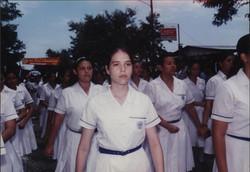 En el desfile patrio